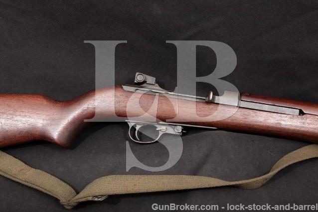 "Quality Hardware H.M.C. M1 .30 Carbine 18"" Parkerized Military Semi Automatic Rifle, 1944 C&R"