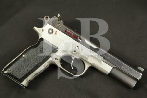 RARE Dornaus & Dixon Standard Model Bren Ten, Blue Stainless 10mm Semi-Automatic Pistol, MFD 1983, ATF C&R 10mm Auto