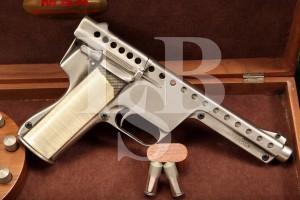 RARE MBAssociates Gyrojet 13mm Mark I Model B Rocket Handgun & Display Case, C&R