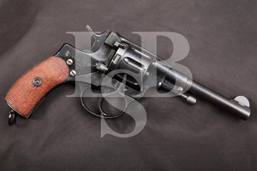 RARE Pre-Revolution Finnish Marked Russian Nagant Model 1895 Tula Arsenal Double Action Revolver, MFD 1915 C&R