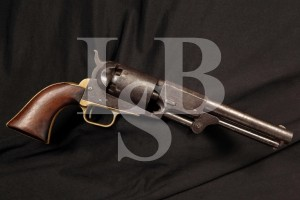 REAL Colt 3rd Model Dragoon .44 Caliber Single Action Percussion Revolver, MFD 1856 Antique