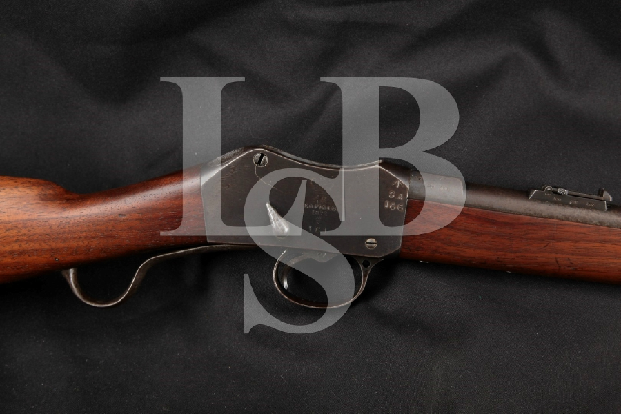 """RSAF Martini Henry Model IC1 Cavalry Carbine with South Australia Markings, Blue 21"""" -- Single Shot Military Rifle, MFD 1877 Antique"""