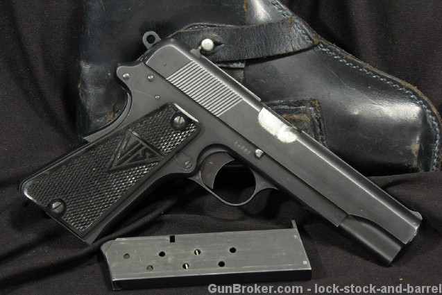 Early 1939 VIS-35 1935 Polish F. B. Radom 9mm Pistol