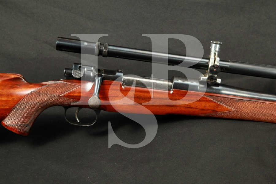 Rare Leonard & Hyde Custom Mauser Blue Target Rifle Unertl Target Scope MFD 1935-1936 C&R