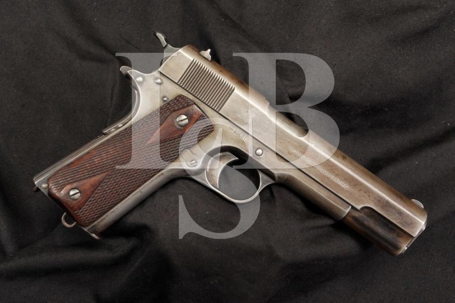 Rare Springfield Armory US Model 1911 .45 ACP Semi Auto Pistol 1914 C&R OK