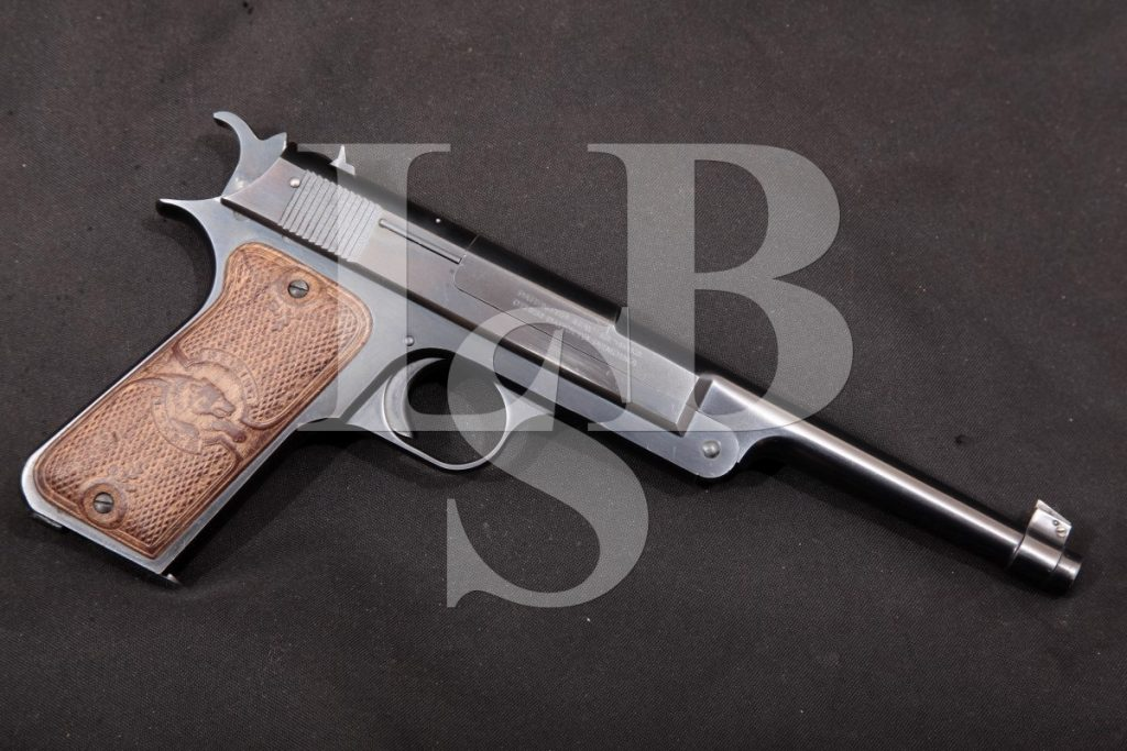 "Reising Arms Co. Hartford Target Automatic Pistol, Blue 6 3/4"" Single Action Semi-Automatic Pistol, MFD 1921 C&R .22 LR"