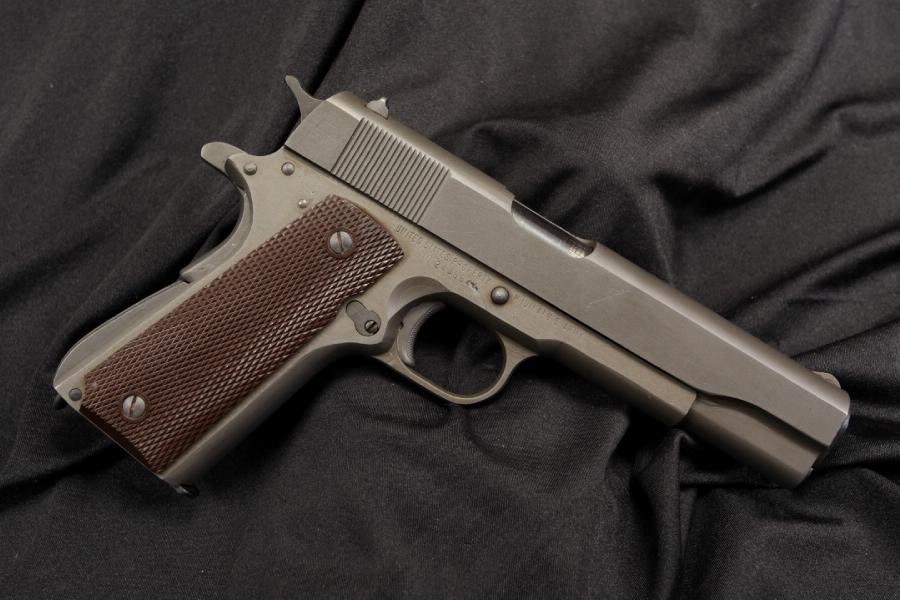 Mint Remington Rand 1911-A1 1911A1 .45 ACP Semi Auto Pistol - 1945 C&R OK