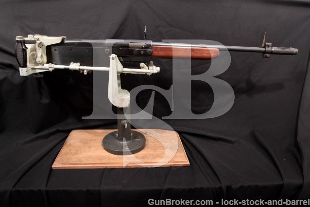 Remington Bell Aircraft WWII AAF Sportsman Aerial Gunnery Anti-Aircraft Trainer Shotgun, Cradle 1944
