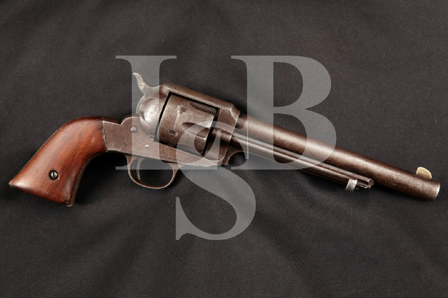 "Remington Model 1890 M1890, 1 of 2,020 Blue 7 1/2"" 6-Shot Single Action Army Pistol, MFD 1893 Antique"