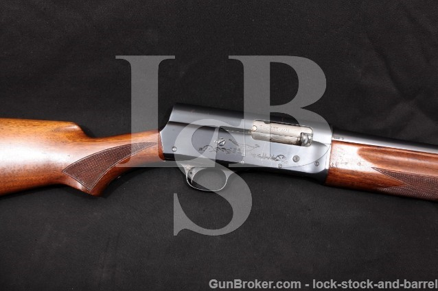 "Remington Sportsman U.S. Marked Riot Gun 12 Gauge Blue 20"" Semi-Automatic Military Shotgun 1942 C&R"