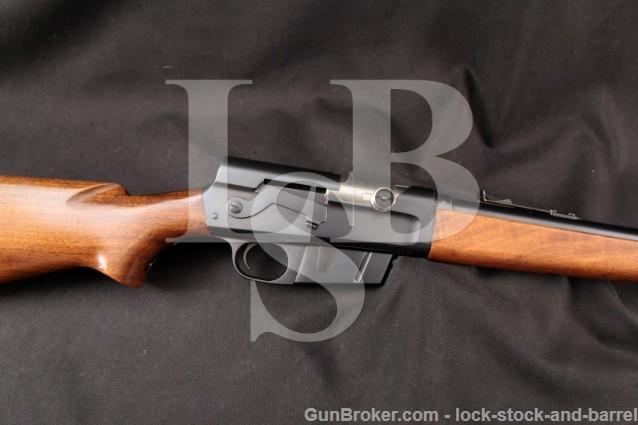 "Remington Woodsmaster Model 81 .35 Rem, Blue 22"" Pre-War Semi-Automatic Rifle, MFD 1942 C&R"