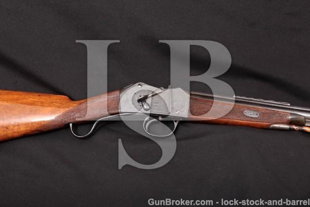 "Robert Hughes Martini Henry Trade Rifle 577/450 Blue 28 1/2"" Solid Rib Single Shot Rifle, C&R"