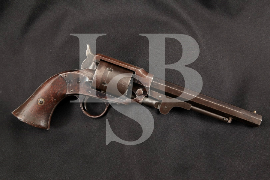 "Rogers & Spencer Army Model 1864, Cartridge Converted, Civil War Era Blue 7 ½"" 6-Shot, Single Action Revolver, MFD 1865 Antique"
