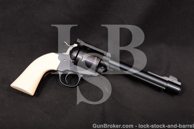 "Ruger Bowen Custom Blackhawk Bisley Big Bore 1995 Blue 6 1/2"" Single Action Revolver, .475 Linebaugh"