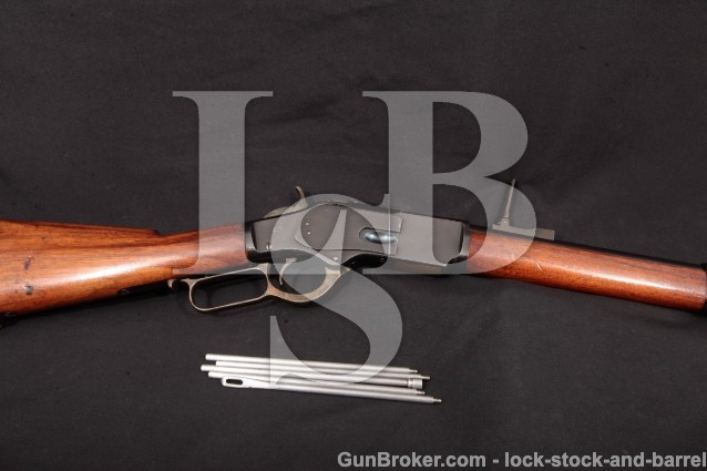 SHARP Winchester 1873 3rd Model Musket, .44-40 WCF