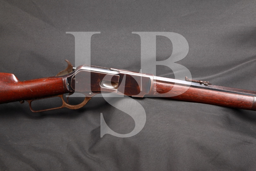 SHARP Winchester Model 1876 3rd Third Model .45-60 WCF Lever Action Rifle MFD 1882, Antique