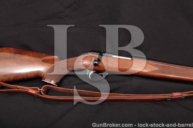 """Sako L461 Vixen Sporter No Import, Blue 23 1/2"""" Bolt Action Rifle & Sling, MFD 1967 .223 Rem.C&R"""