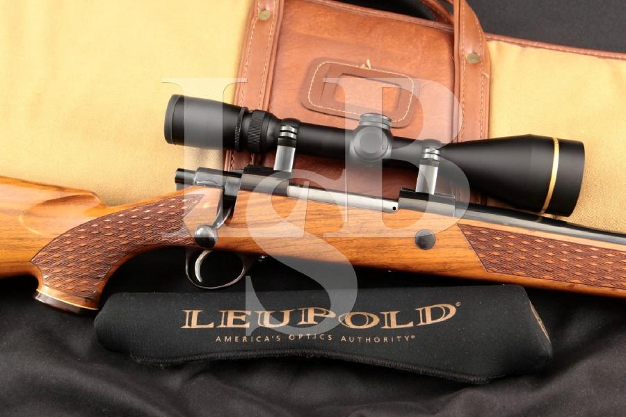 Sako Model L61R Finnbear Blue 24 Bolt Action, Internal Magazine Fed Rifle, MFD 1978