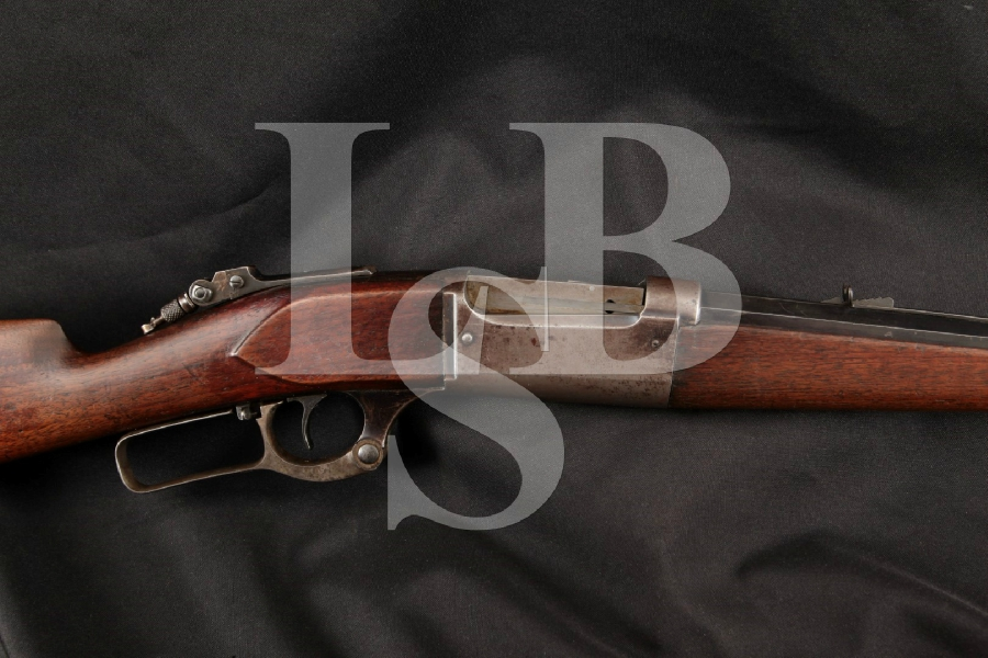 "Savage Model 1899B 1899-B Standard Weight Solid Frame, Case Colored & Blue Octagonal 26"" Lever Action, Rotary Mag Fed Rifle, MFD 1905 C&R"