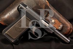 Guns For Sale - Savage Model 1907 .32 ACP Semi Auto Pistol & Holster, MFD Pre-1913, C&R