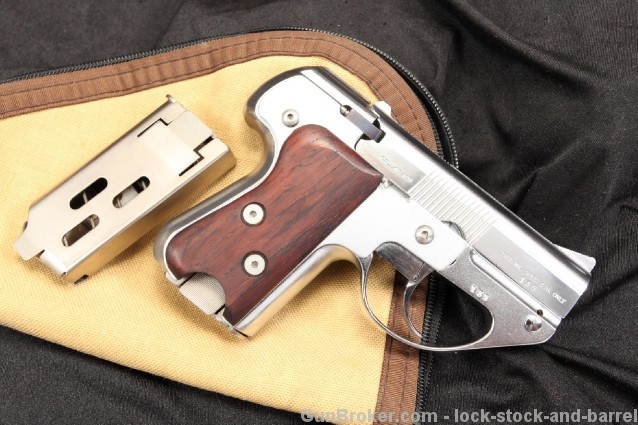 RARE Semmerling Manually Operated Slide LM-4 .45 ACP Hard Crome Plated Repeating Pistol 45ACP