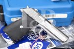 "Sig Sauer Model P232 Sl, Stainless Steel 3 1/2"" SA/DA Semi-Automatic Pistol, Case & Paperwork, MFD 2001 .380 ACP"