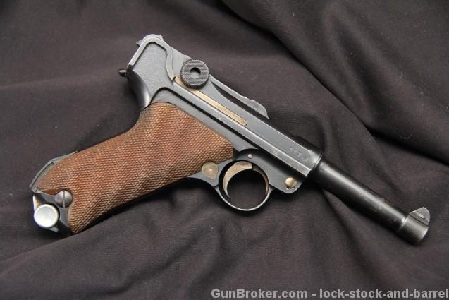Rare Simson & Co. Suhl Luger Semi-Auto Pistol, C&R