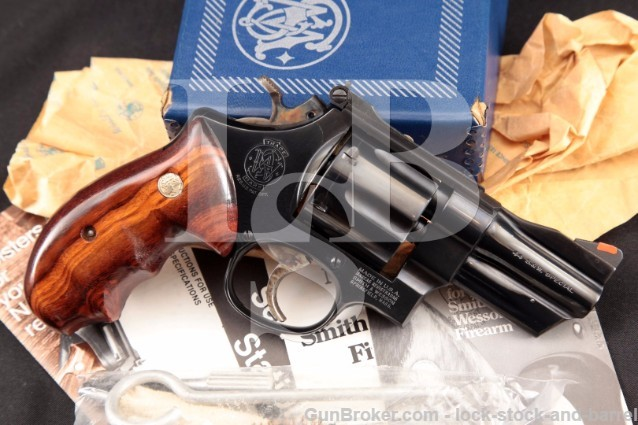 "Smith & Wesson S&W 24-3 Lew Horton .44 Special 3"" Blue Double Action Revolver & Box, MFD 1983"