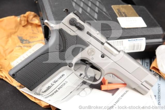 "Smith & Wesson S&W 5906 IDPA Performance Center SKU170093 Stainless 4"" SA DA Semi Automatic Pistol"