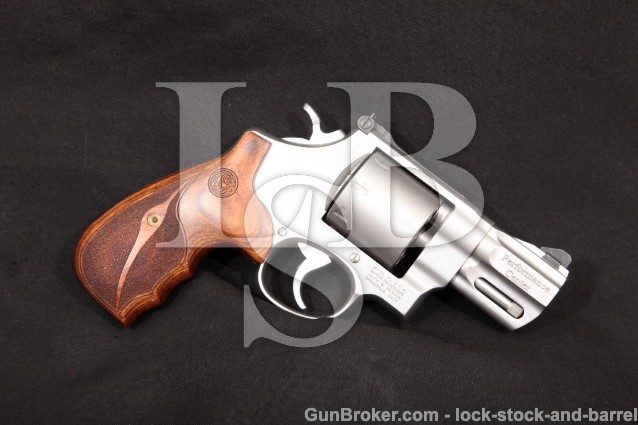 "Smith & Wesson S&W 627-5 Performance Center .357 Stainless 2 5/8"" 8-Shot Double Action Revolver"