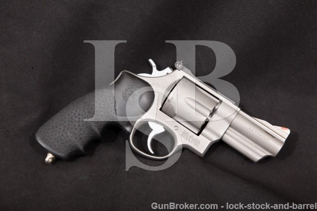 """Smith & Wesson S&W 629-1 Lew Horton Stainless 3"""" Ported SA/DA Double Action Revolver, 1986-7 44 Mag"""