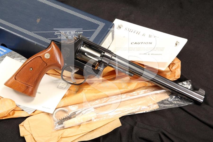Smith & Wesson S&W Model 14-4 K-38 Combat Masterpiece .38 Spl. DA Revolver & Box