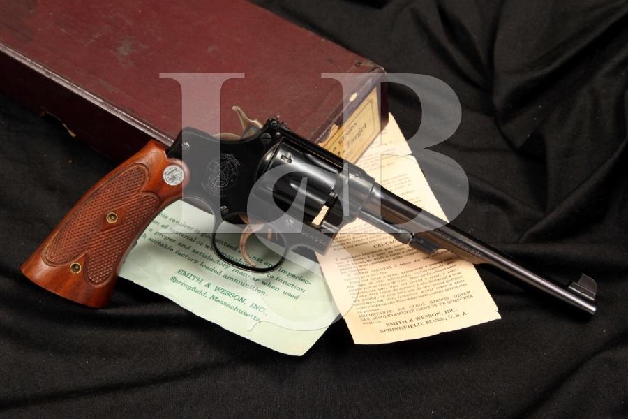 Smith & Wesson S&W Model 22/32 .22/.32 Bekeart Heavy Frame Target Model & Box - C&R OK