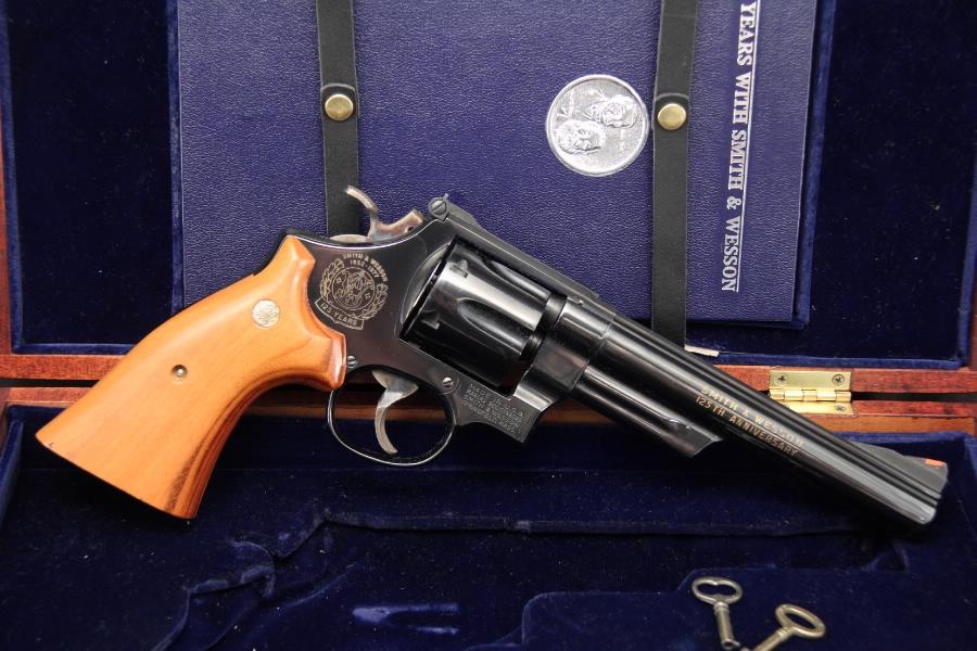 Smith & Wesson, S&W Model 25-3 -- 125th Anniversary .45 Colt Revolver Cased - C&R OK