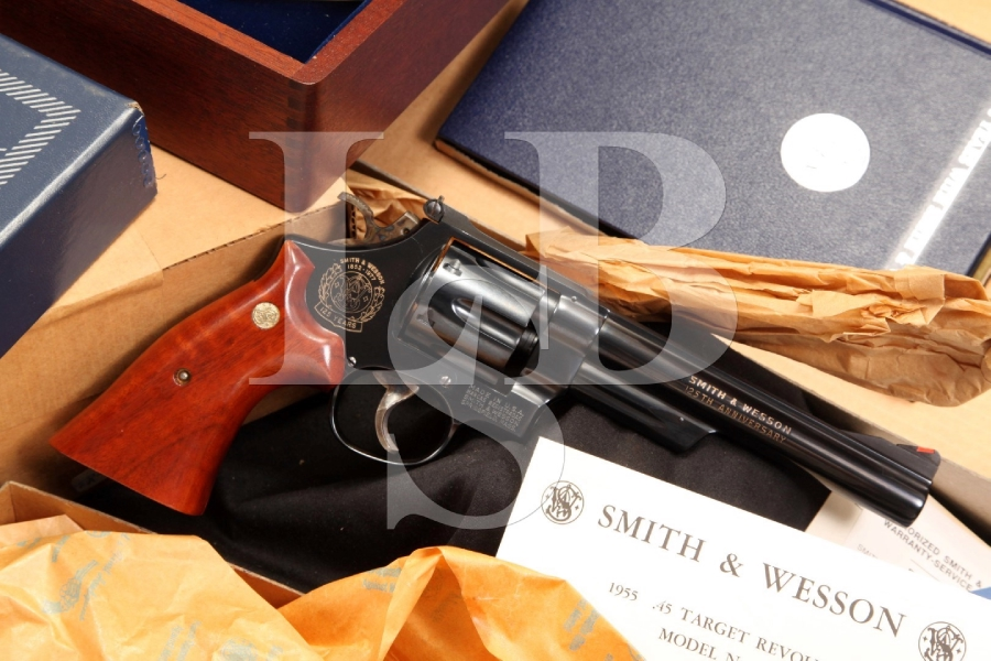 Smith & Wesson S&W Model 25-3 125th Anniversary .45 Colt Revolver Cased C&R
