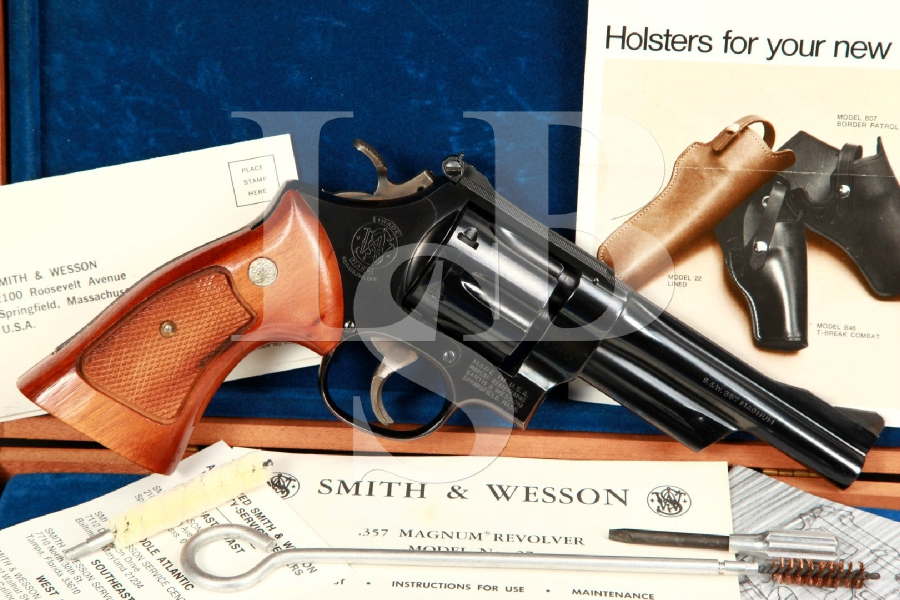 Smith & Wesson S&W Model 27-2 .357 Magnum 5 INCH Double Action Revolver & Case