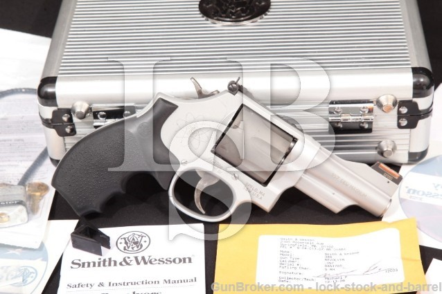 "Smith & Wesson S&W Model 386Sc .357 Mountain Lite 3 1/8"" 7-Shot DA Revolver, MFD 2006"