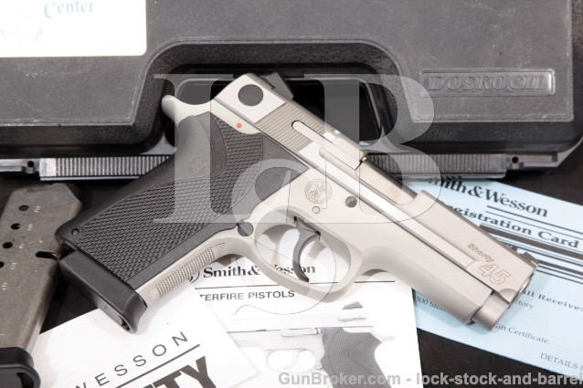 Smith & Wesson S&W Performance Center Shorty .45 170075 Stainless & Alloy Semi-Auto Pistol & Box