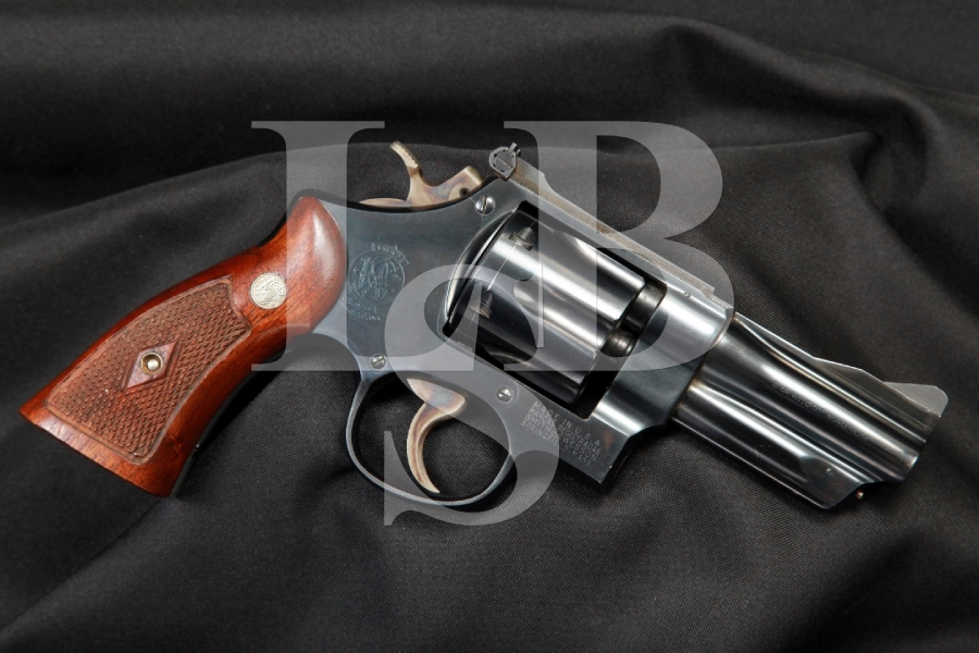 Smith & Wesson S&W Pre-Model 27 'The .357 Magnum' 3 1/2 INCH Double Action Revolver, MFD 1952-53 C&R