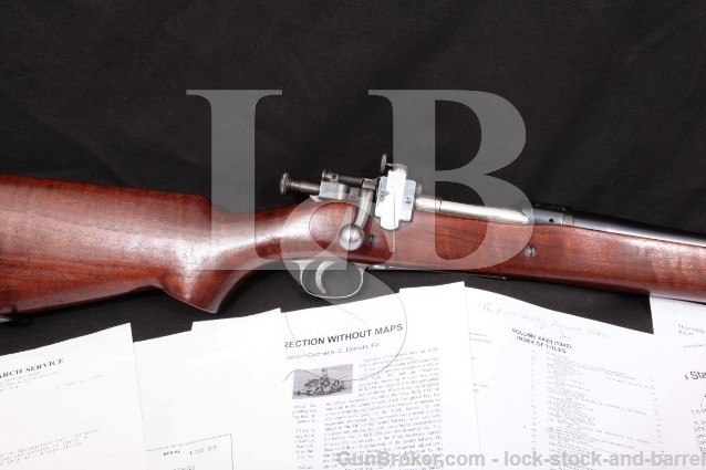 Springfield 1903 NRA Sporter .30-06 Star Gauge Bolt Action Rifle Lyman No 48 & Paperwork 1926 C&R