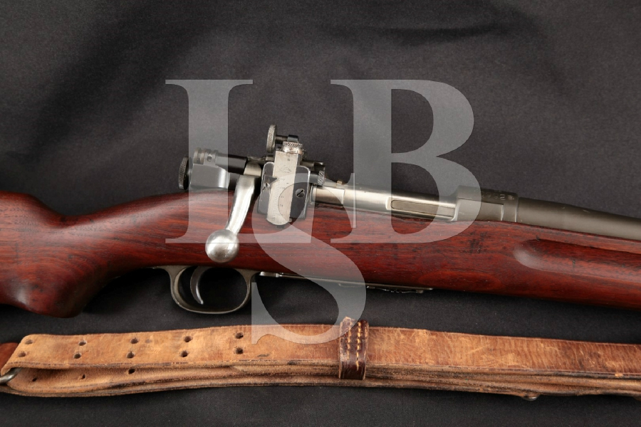 "Springfield 1922M2 1922-M2 Trainer Model, Rare Parkerized 24"" Bolt Action Rifle Lyman Sight & Sling MFD 1926 C&R"