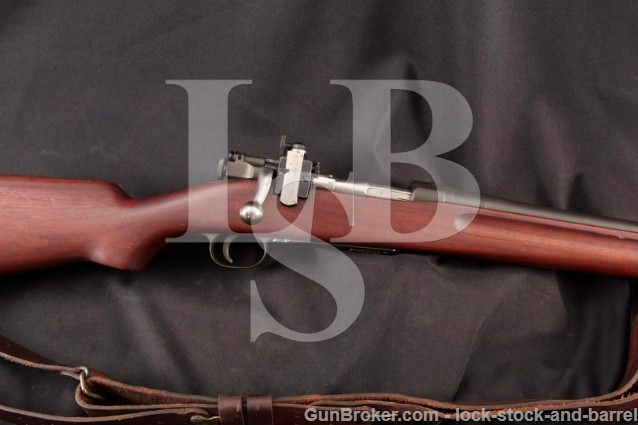 "Springfield Armory M2 Model 1922 Trainer, Mag Fed 24"" RARE Military Bolt Action Rifle, MFD 1932 C&R"