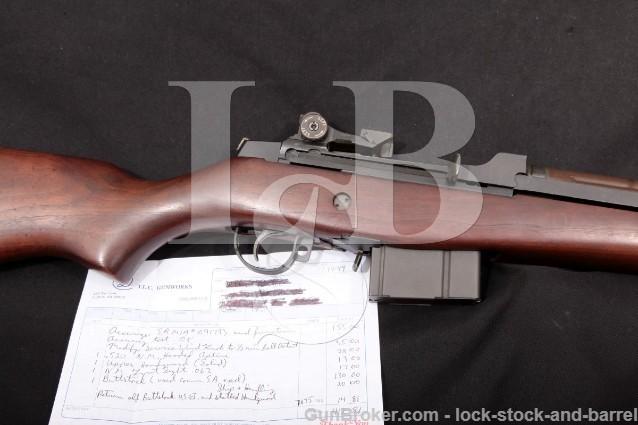"Springfield Armory T.L.C. Gunworks Custom M1A .308 Parkerized 22"" Semi-Automatic Rifle, MFD 1995"