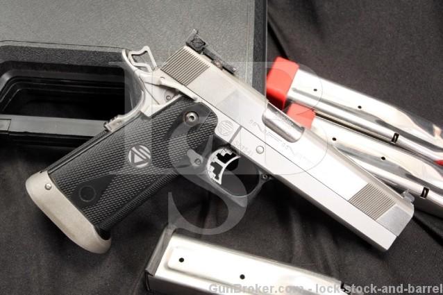 Strayer - Voight Infinity Sight Tracker 1911 Clone .40 S&W SA Semi Automatic Pistol - Box & More