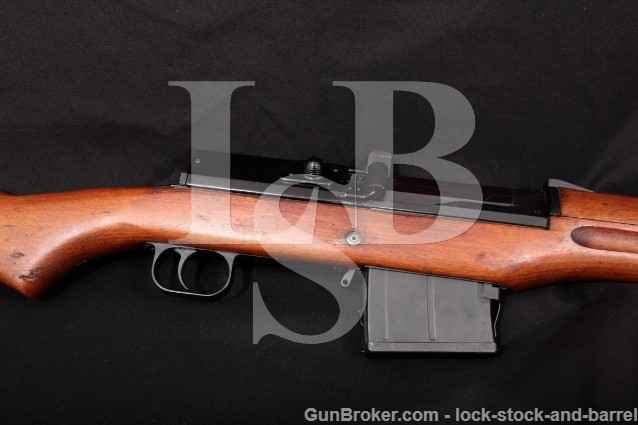 "Sweden Ljungman AG-42B AG42 Import Marked Military 25"" Semi-Auto Rifle, 1943 C&R 6.5x55 Swedish"