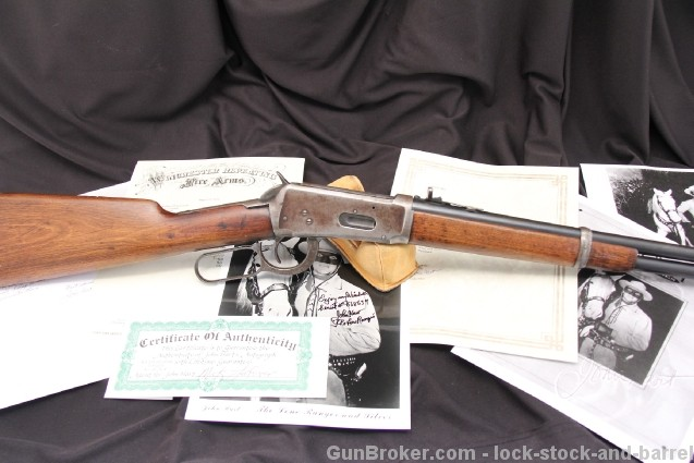 John Hart, The Lone Ranger's Winchester Model 1894 .30-30 WCF Lever Action Carbine w/ Provenance