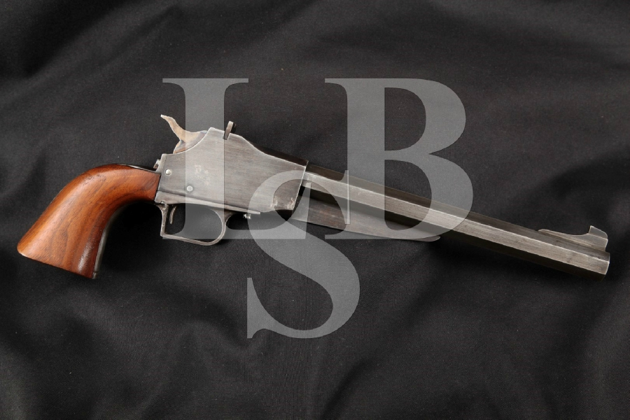 "Tingle MFG. CO. Model of 1960 Muzzle Loader, Blue & Case Colored 9 ½"" .41 Cal Single Shot Percussion Pistol, ATF Antique"
