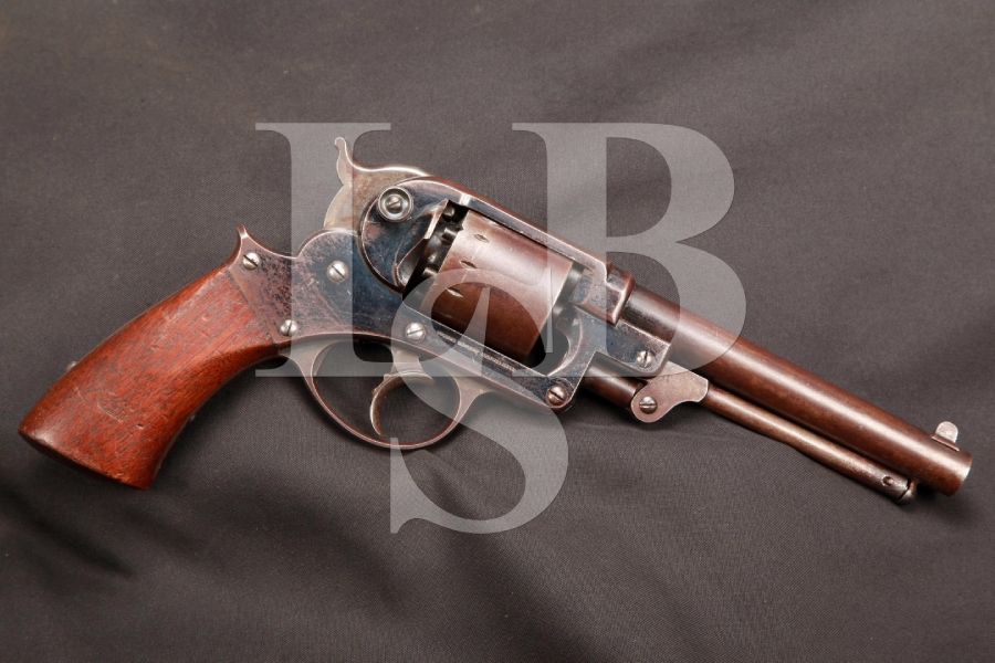 U.S. Inspected Civil War Starr Arms Co. Model 1858 Army Revolver Double Action Percussion Revolver MFD 1861 Antique