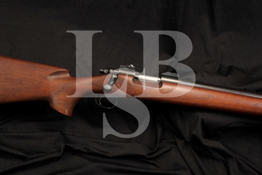 U.S. Marked Remington 40X 40 X -- .22 LR Single Shot Bolt Action Training Rifle