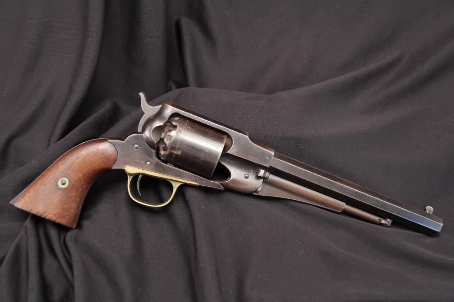 U.S. New Jersey Remington -- Model 1858 Model Army .44 Percussion Revolver